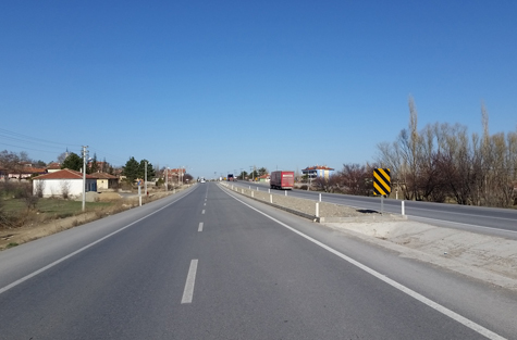 AKŞEHIR-AFYON ROAD ENGINEERING STRUCTURES AND ROAD CONSTRUCTION WORK